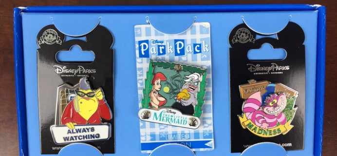 Disney Park Pack May 2016 Subscription Box Review – Pin Trading Edition