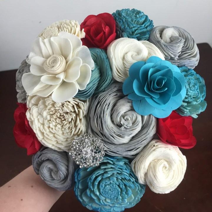 ecoflower mystery box may 2016 bouquet