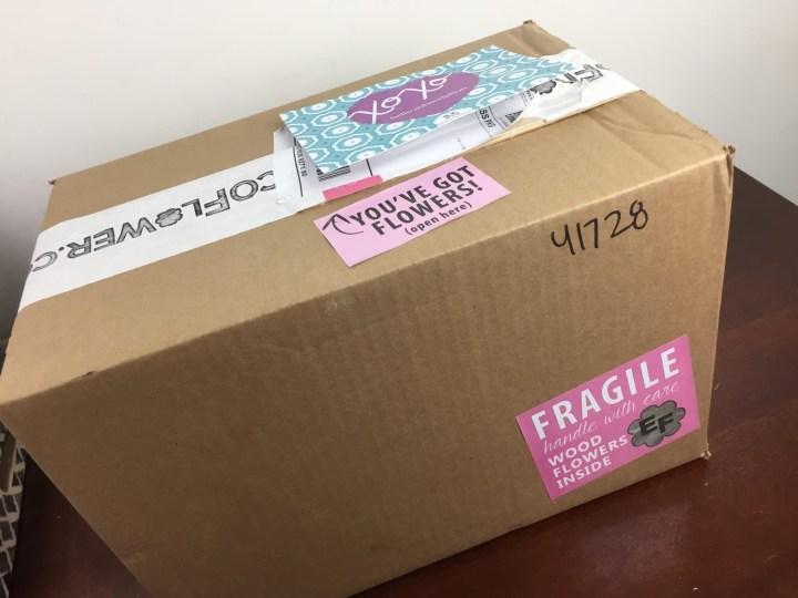 ecoflower mystery box may 2016 box