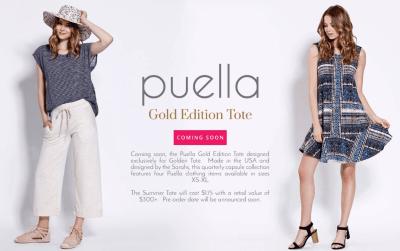Golden Tote Puella Tote Fall 2016 Info!