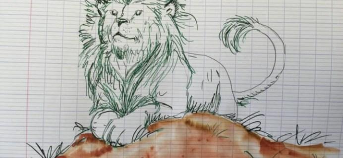 Goulet Pens Ink Drop April 2016 Subscription Review