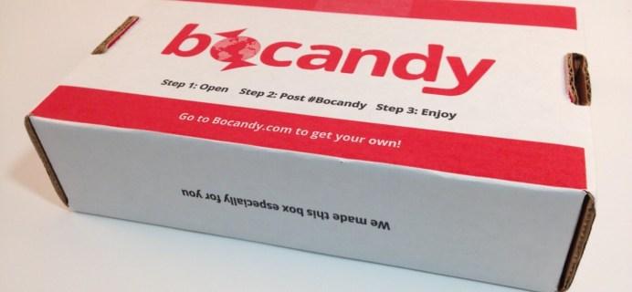 Bocandy May 2016 Subscription Box Review & Coupon