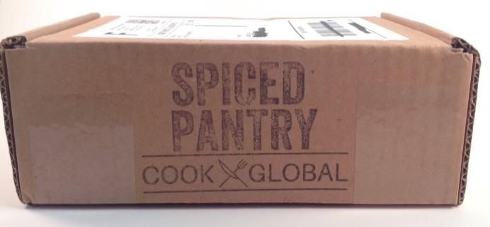 "Spiced Pantry April 2016 Subscription Box Review + Coupon – ""Shanghai"""