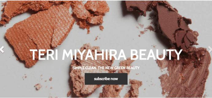 Teri Miyahira Beauty Subscriptions Open + Coupon