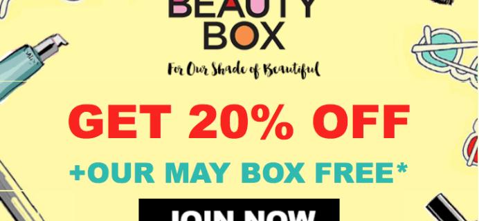 Essence Beauty Box Memorial Day Deal: Free Bonus Box + Save 20%!