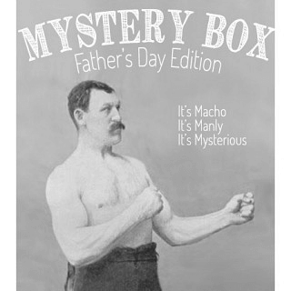 Mystery Manly Bag of Awesomeness Limited Fathers Day Edition Box
