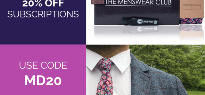 Menswear Club Flash Sale: Save 20%