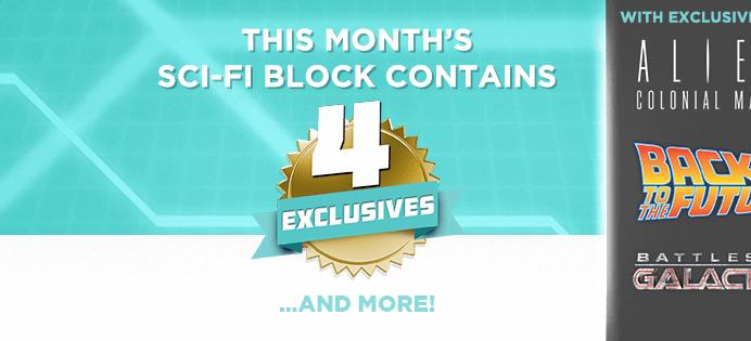 June 2016 Sci-Fi Block Spoilers + Coupon!