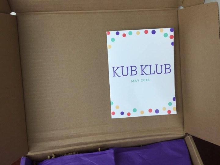 kub klub may 2016 box lid