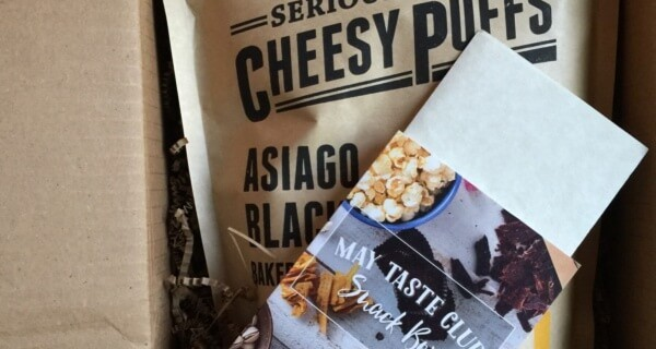 May 2016 Taste Club: Snack Subscription Box Review + Coupon