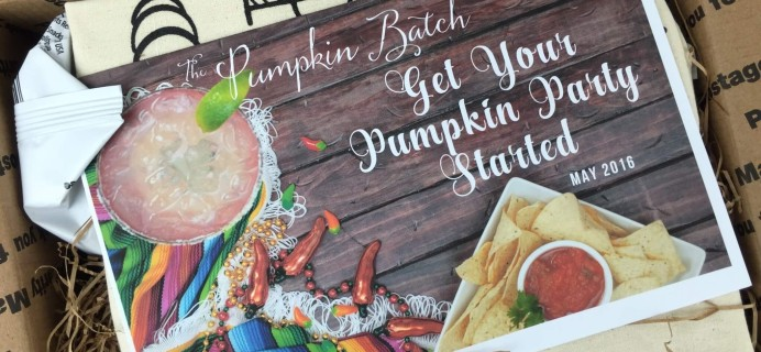 The Pumpkin Batch May 2016 Subscription Box Review