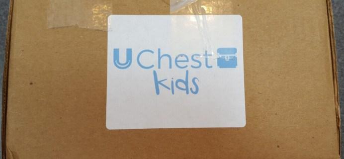 uChest Kids Subscription April 2016 Box Review & Coupon