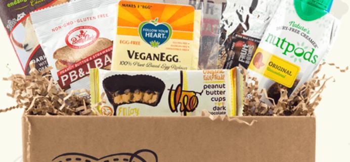 Vegancuts July 2019 Snack Box Spoilers!