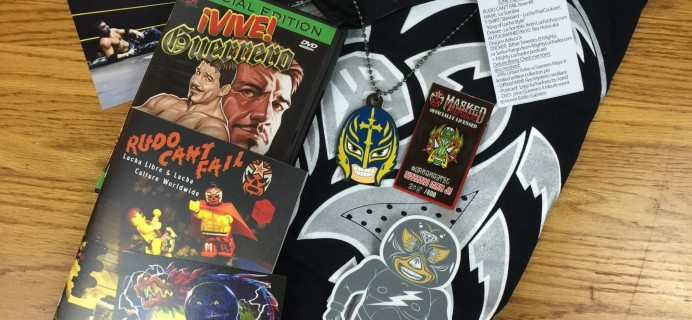 Lucha Loot Subscription Box Review & Coupon – June 2016