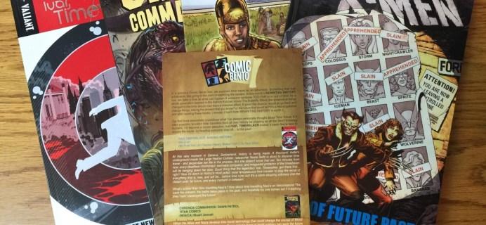 Comic Bento June 2016 Subscription Box Review & Coupon