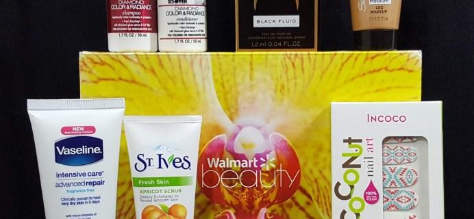 Walmart Beauty Box Subscription Box Review – Summer 2016