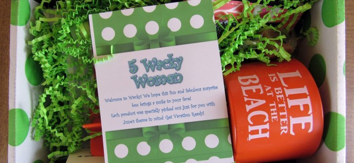 5 Wacky Women Subscription Box Review – June 2016