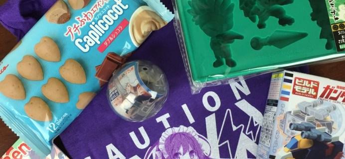 Anime Bento Subscription Box Review & Coupon – June 2016