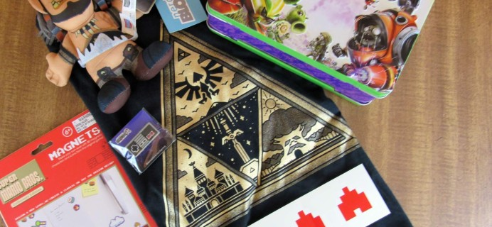 Arcade Block May 2016 Subscription Box Review & Coupon