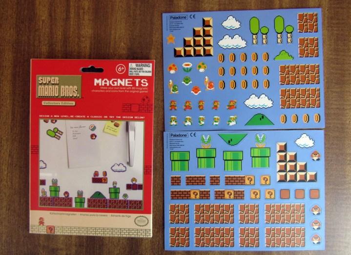 Super Mario Bros Build a Level Magnet