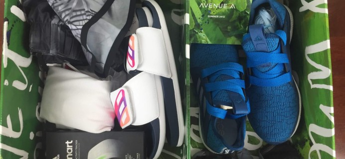 Avenue A by Adidas Summer 2016 Subscription Box Review