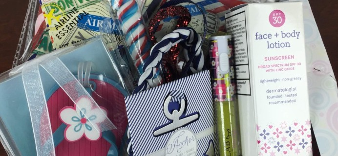 Boodle Box July 2016 Subscription Box Review