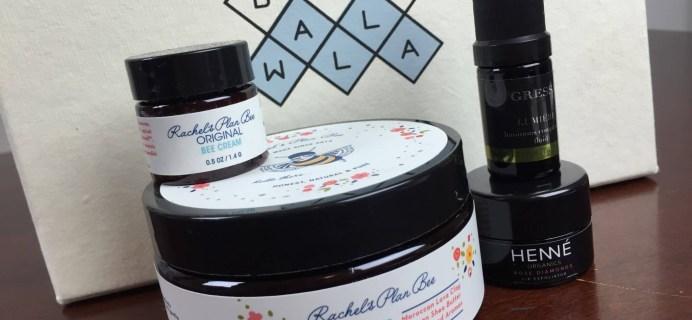 Boxwalla Beauty Subscription Box Review – June-July 2016