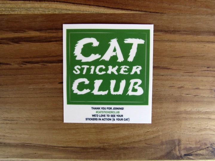Welcome Sticker