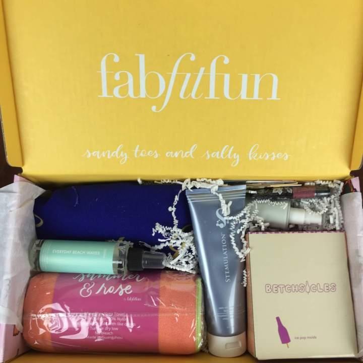 FabFitFun Box Summer 2016 review