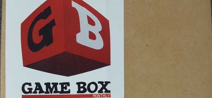 Game Box Monthly June 2016 Subscription Box Review