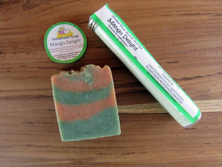 Mango Delight Handmade Soap