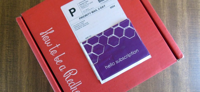 How To Be A Redhead Subscription Box Review – June 2016