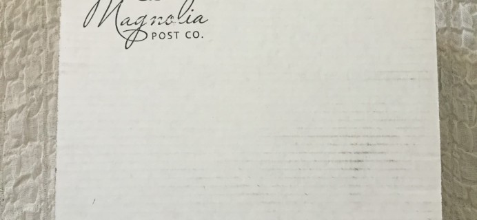 Magnolia Post Co June 2016 Collection Review & Coupon