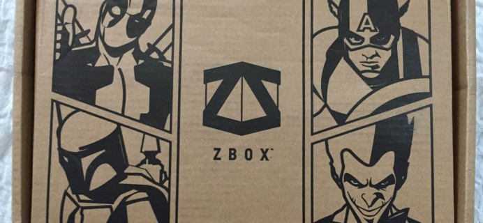 ZBOX May 2016 Subscription Box Review