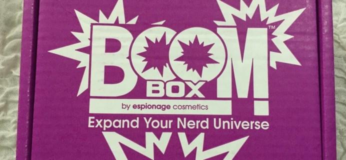 EC BOOM! Box June 2016 Subscription Box Review & Coupon