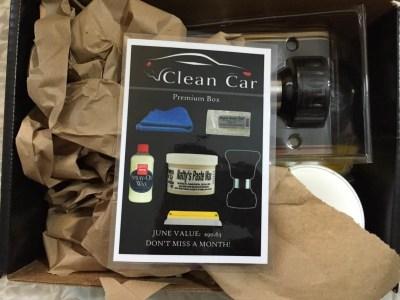 Clean Car Box June 2016 Subscription Box Review