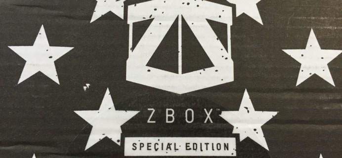 ZBOX Limited Edition Civil War Captain America Box Review