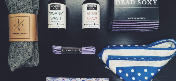 The Menswear Club June 2016 Subscription Box Review + Coupon!