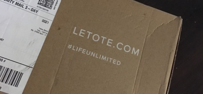 Le Tote June 2016  Subscription Box Review & Coupon – First Box Free Last Day!
