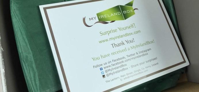 My Ireland Box June 2016 Subscription Box Review