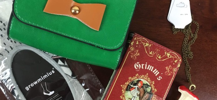 Once Upon a BookCase June 2016 Subscription Box Review