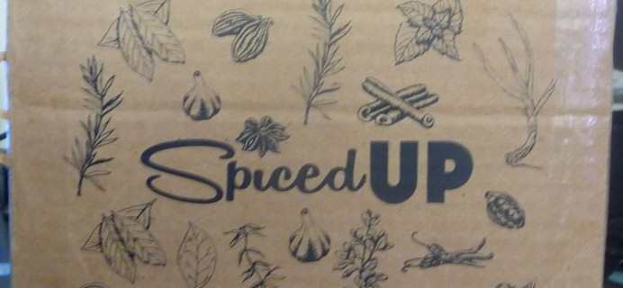 Spiced Up June 2016 Subscription Box Review