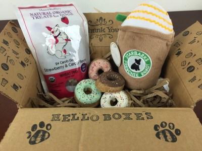 Petite Fours Treats June 2016 Subscription Box Review