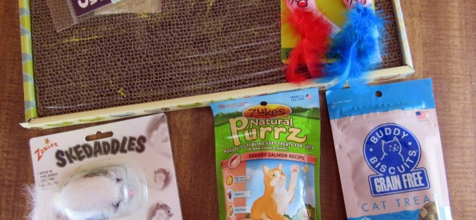 Purr-Packs June 2016 Subscription Review & Coupon – Fun and Love Size