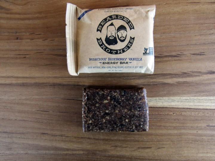 Bearded Brothers Bodacious Vanilla Blueberry Energy Bar