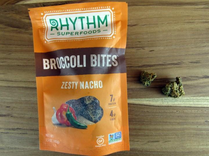 Rhythm Superfoods Zesty Nacho Broccoli Bites
