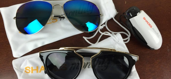 Shades Monthly June 2016 Subscription Box Review