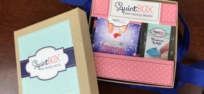 SquintBox June 2016 Subscription Box Review