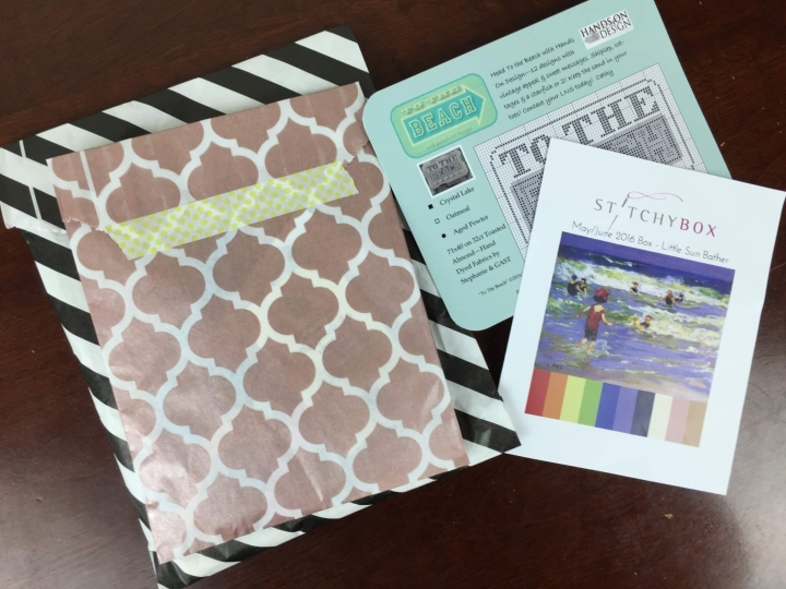 Stitchy Box May-June 2016 Review