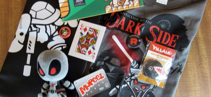 June 2016 Super Geek Box Subscription Box Review & Coupon